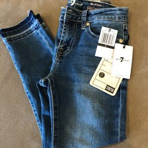 7 for All Man Kind Girls Jeans 8